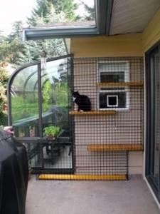 catio para porche o balcón