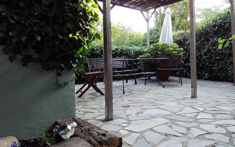 Zona recepción de Peludos Residencia Canina y Felina